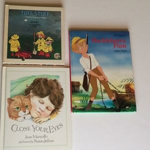 3 Vintage Hardbacks Children Books 1978 1980 1984